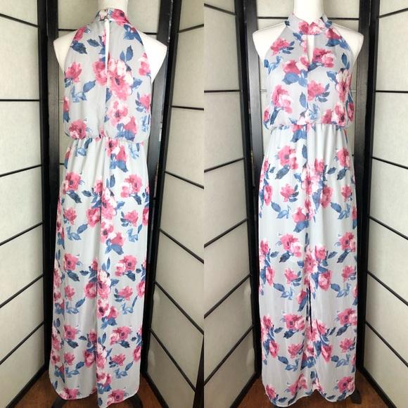 f316592e4bbe2 Sienna Sky Dresses   Floral Pink Blue Summer Maxi Dress   Poshmark